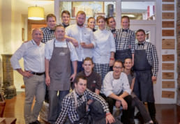 Chef Martin Zahumensky - Night at Pavuk's restaurant